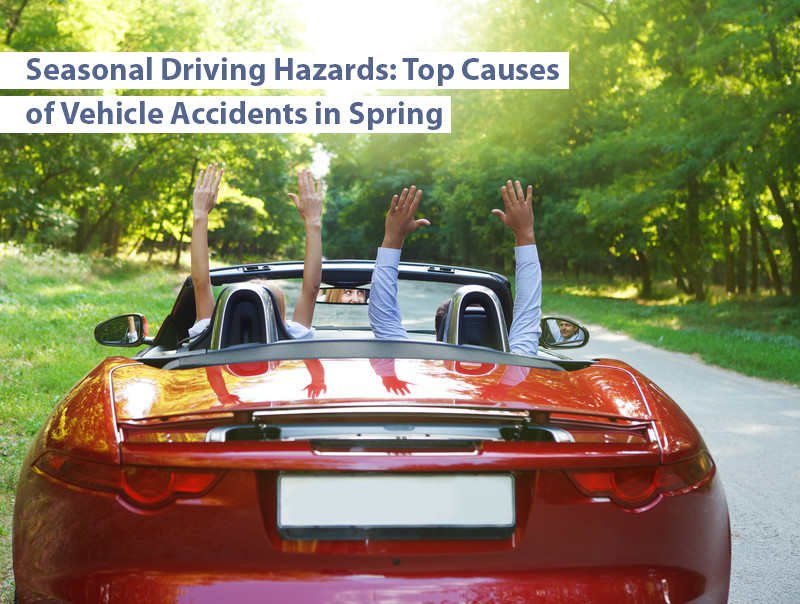 Image for Beware of Spring Driving Hazards: Top Causes of Vehicle Accidents in Spring post