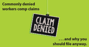 Image for Injury Claims Ohio Workers' Compensation Will Typically Deny – And Why You Should File A Claim Anyway post