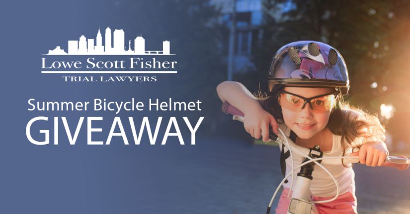 lowe scott fisher bike helmet giveaway