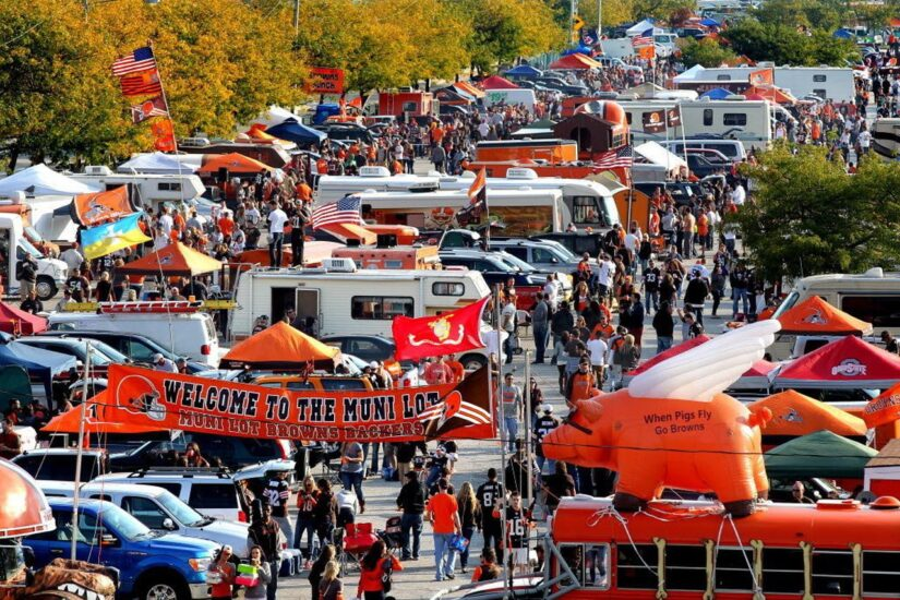 Image for 7 Ways To Cash In At The Muni Lot: A Cleveland Browns Fan's Guide to Tailgating Your Way to Wealth post